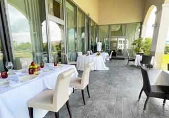 Esterno Ristorante Ambasciata Villa Bartolomea Fratelli Tamani